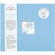 "D-ring Storybook Album 12""x12"" Doodlebug - Bubble Blue"