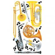 Utgår! Stickers Sticko - Wind instruments - Blåsinstrument