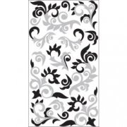 Stickers Sticko - Silver flourish - Silver swirls