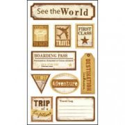Stickers Sticko - See the world - Resa