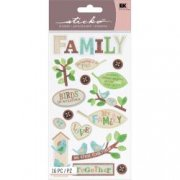 Stickers Sticko - The family tree - Familjeträd