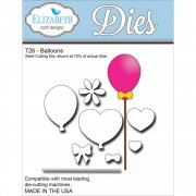 Die Set - Elizabeth Craft - Balloons