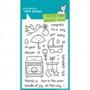 "Clear Stamps 4""X6"" - Lawn Fawn - Plus One"