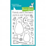 "Clear Stamps 4""X6"" - Lawn Fawn - Making Frosty Friends"