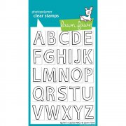 "Clear Stamps 4""X6"" - Lawn Fawn - Quinn's Capital ABCs"