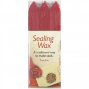 Lackstång - 3-pack - Sealing Wax Sticks - Röd