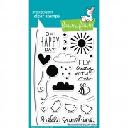 "Clear Stamps 4""X6"" - Lawn Fawn - Hello Sunshine"