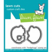 Lawn Fawn Cuts Custom Craft Die - Hedgehugs