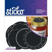 Stickers - Sticko Chalk Label - Etiketter