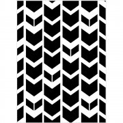 "Embossing Folder 4.25""X5.75"" - Darice - Tribal Chevron"