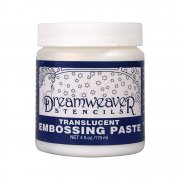 Dreamweaver Embossing Paste 4oz - Transluscent
