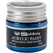 Finnabair Alchemy Acrylic Paint - Metallique Ancient Coin