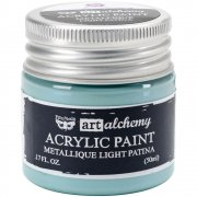 Finnabair Alchemy Acrylic Paint - Metallique Light Patina