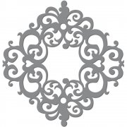 Dies Ultimate Crafts Die - Baroque Ornament