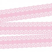 Spets - Magnolia Lane Ribbon 30 mm - 1 meter Rosa