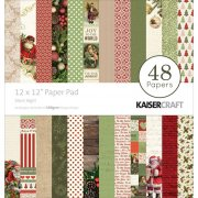 Paper Pad 12x12 - Hel kollektion Silent Night - Kaisercraft