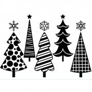 "Embossing Folder 4.25""X5.75"" - Darice - Fun Christmas Trees"