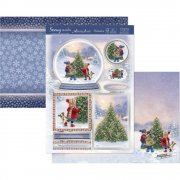 A4 Topper Set - It's Beginning To Look A Lot Like Xmas - Hunkydory