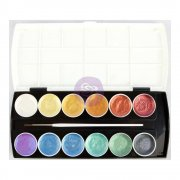 Prima Metallic Accents Semi-Watercolor Paint Set
