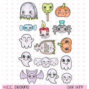 Clearstamps CC Design - Halloween Things