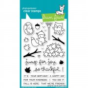 "Clear Stamps 4""X6"" - Lawn Fawn - Jump For Joy"