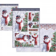 A4 Topper Set - Festive Friends - Hunkydory