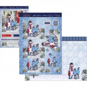 A4 Topper Set - Frosty The Snowman - Hunkydory