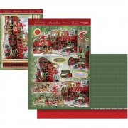 A4 Topper Set - The Santa Express - Hunkydory