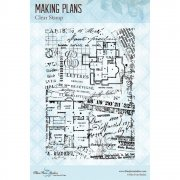 Clearstamps - Blue Fern Studios - Making Plans