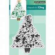 Cling Stamp Penny Black - Festive Tree