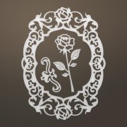 Dies Ultimate Crafts Ooh La La Die - Flourished Roses