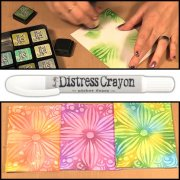 Tim Holtz Distress Crayon - White Picket Fence