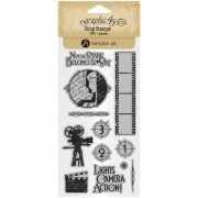 Graphic 45 Cling Stamps - Vintage Hollywood - #1
