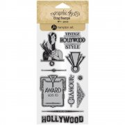 Graphic 45 Cling Stamps - Vintage Hollywood - #3