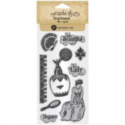 Graphic 45 Cling Stamps - Portrait of A Lady - #2