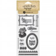 Graphic 45 Cling Stamps - Portrait of A Lady - #3