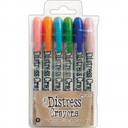 Tim Holtz Distress Crayon Set 6