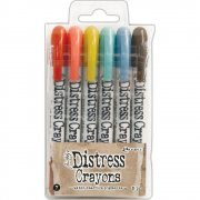 Tim Holtz Distress Crayon Set 7
