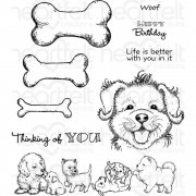 Heartfelt Creations Cling Rubber Stamp Set