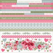 Stickers 12x12 - High Tea - Kaisercraft