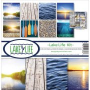 Paper Kit 12x12 - Reminisce - Lake Life