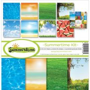 Paper Kit 12x12 - Reminisce - Summertime