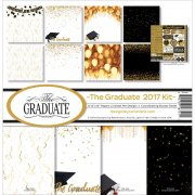 Paper Kit 12x12 - Reminisce - The Graduate 2017