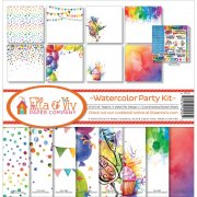 Paper Kit 12x12 - Ella & Viv - Watercolor Party