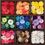 Papper - Ella & Viv - Tinker Tray - Box Of Buttons