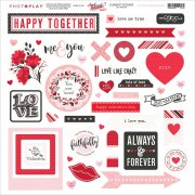 "Stickers 12""x12"" - Photo Play - So Lovely"