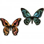 Sizzix Thinlits Dies - Mini Detailed Butterflies