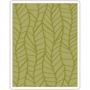 Embossing Folder - Sizzix - Leafy By Tim Holtz