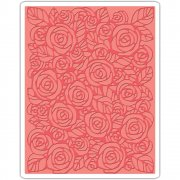 Embossing Folder - Sizzix - Roses By Tim Holtz