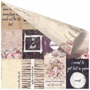 Papper Prima - Wild & Free Foiled - Pretty Little Notes